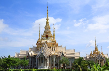 korat: Thai temple landmark in Nakhon Ratchasima or Korat, Thailand.