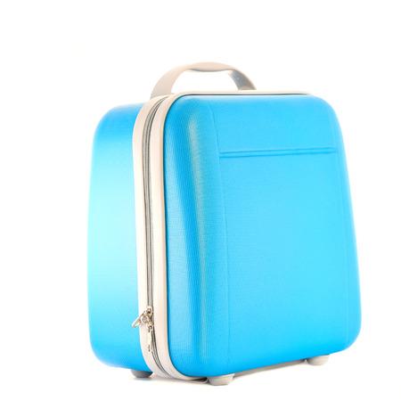 lugage: modern bag on a white background. Stock Photo