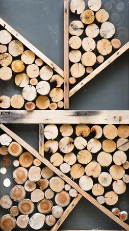 frame on wall: Taglio legno � organizzare per essere la parete telaio.
