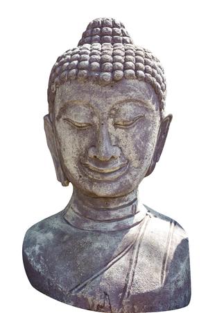 cabeza de buda: Aislado cabeza de Buda.