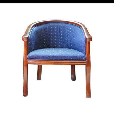 silla de madera: Silla de madera. Aislado.