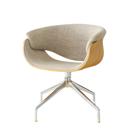 comfortable chair: Modern Chair isolated.