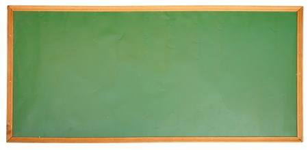 marco madera: Pizarra verde en bastidor de madera.