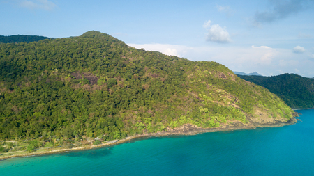 Top View of Koh Chang Beach.