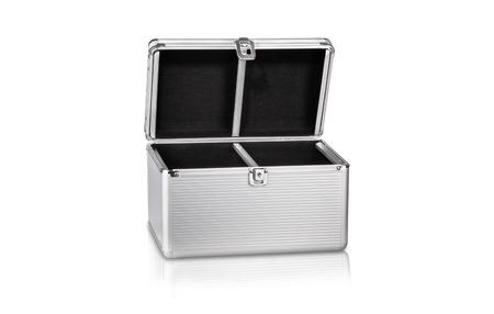 Aluminium tresaure chest, metal box, case