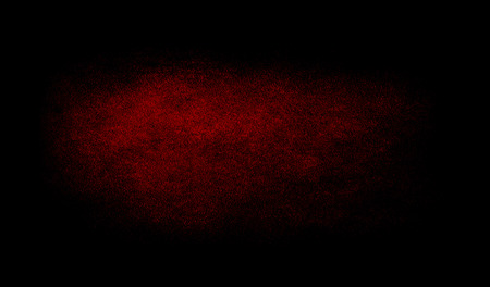 Red dark grunge texture background with spotlight - Black wall. Grunge table, scratched backdrop. Archivio Fotografico