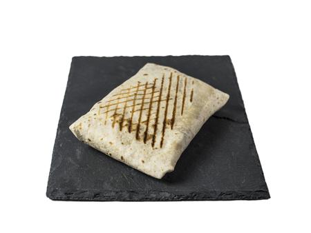 Single French Tacos on Slate