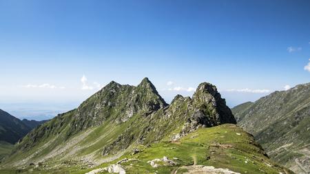 Ridge in Carpathian Mountains, Roumania