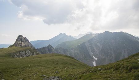 Savage Landscape in Carpathians Mountains, Roumania