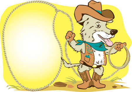cartoon dog: Ranch Dog