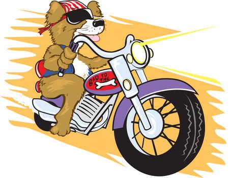 Biker Mutt Vector