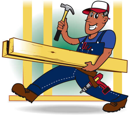 Handyman Stock Vector - 9886611