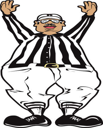 referees: The Touchdown Illustration