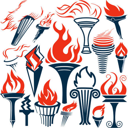 Torch Collection Vector