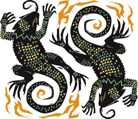 Spiky Southwestern Lizards