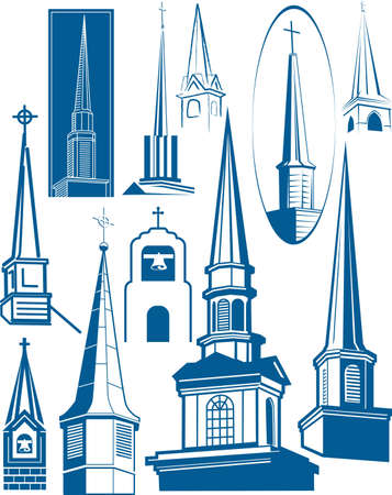 Steeple Collection Vector