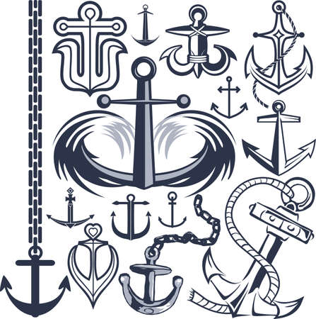 Anchor Collection Illustration