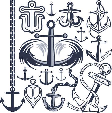 tatouage art: Collection d'ancrage