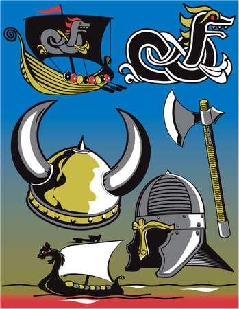 Viking Clip Art Vector