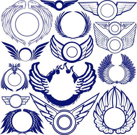 tatouage ange: Anneaux Wing