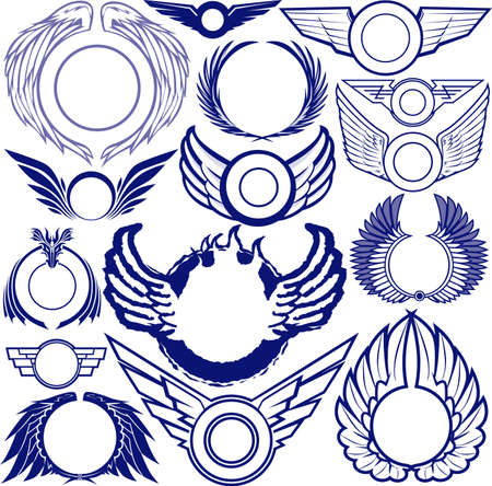 engel tattoo: Fl�gel Ringe