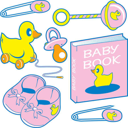 Baby Gifts Stock Vector - 10444273
