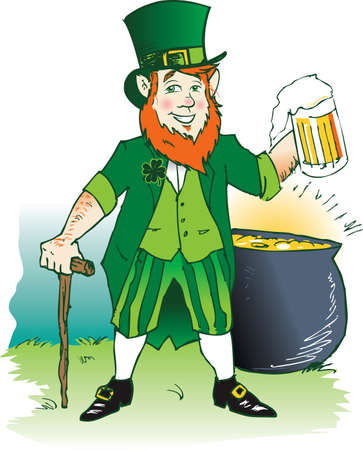 Leprechaun's Ale Stock Vector - 11324618