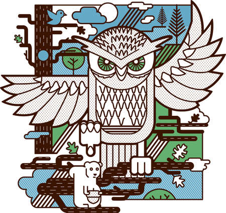 Owl Attack Vector
