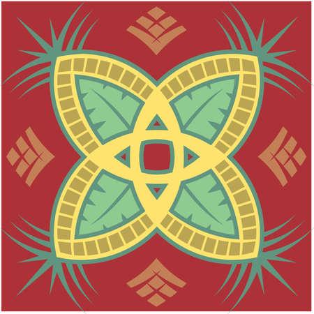 Pineapple Patroon Stock Illustratie
