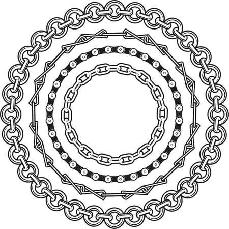 cadenas: La cadena de anillos