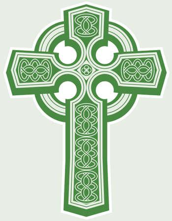 Celtic Cross Stock Vector - 12890984