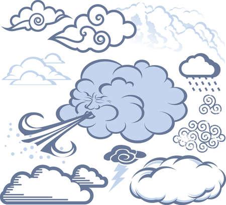 viento: Nube de Colecci�n