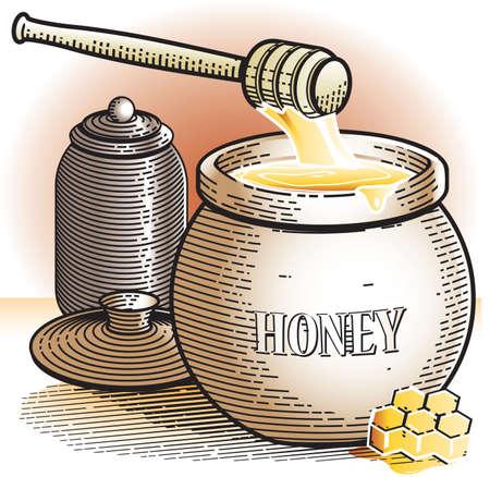 Honey Pot Vector