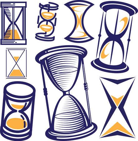 Hourglass Collection  Ilustração