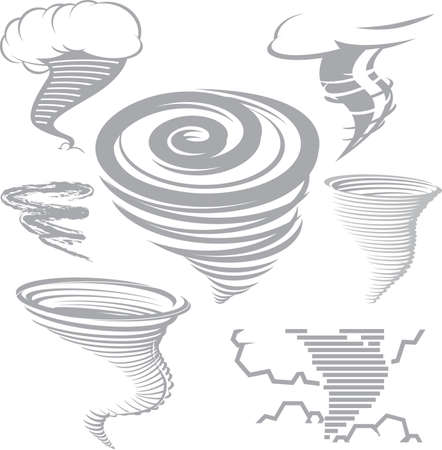 Tornado Collection Vector