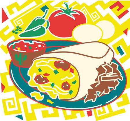 burrito: Breakfast Burrito