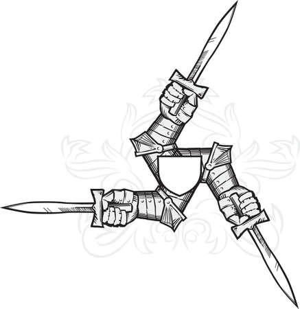 Medieval Triskelion