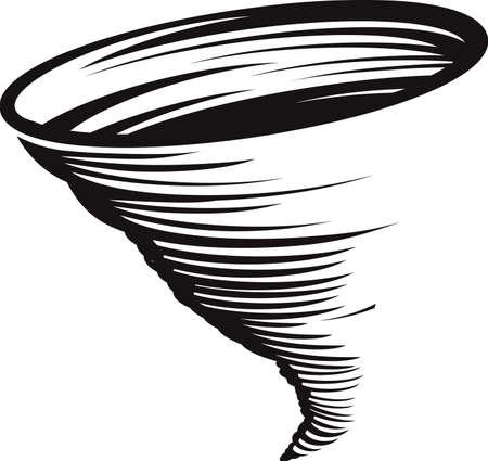 tornado wind: Cyclone Illustration