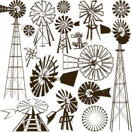 molino: Molino de viento de Colecci�n