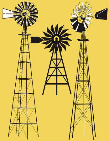 MOLINOS DE VIENTO: Tres Molinos de viento