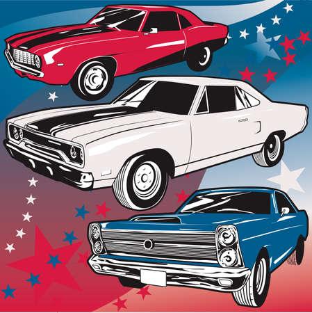 Amerykańskie Muscle Cars