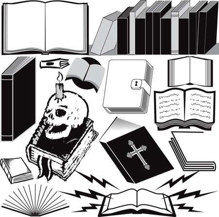 bible ouverte: Collection de livres