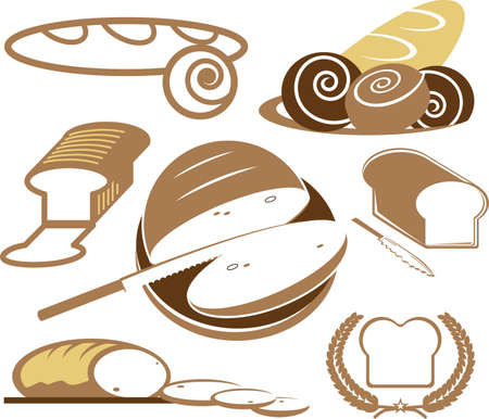 Bread Collection Stock Vector - 13026609