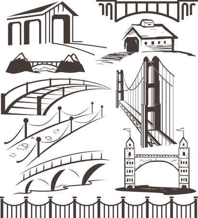 bridges: Bridge Collection Illustration