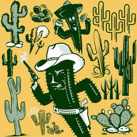 Cactus Clip Art Stock Vector - 13026617