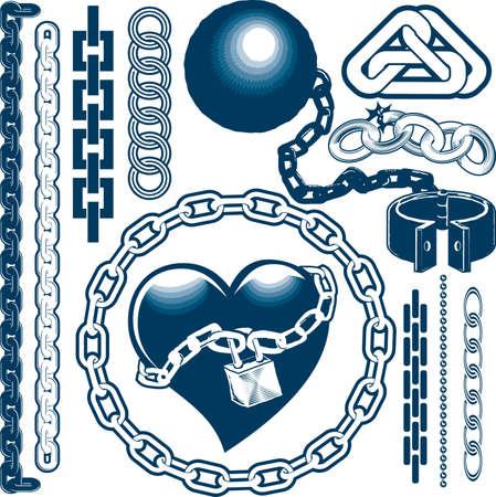 cadenas: Cadena Colecci�n Vectores