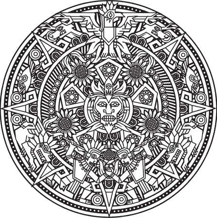 曼陀羅: アステカのマンダラ