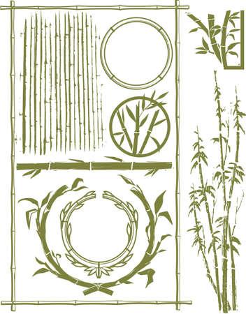 circle shape: Bamboo Collection