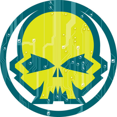 hacker: Cyber Skull