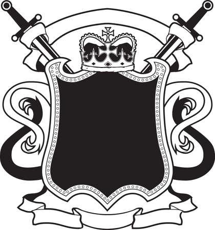 King s Crest Vector